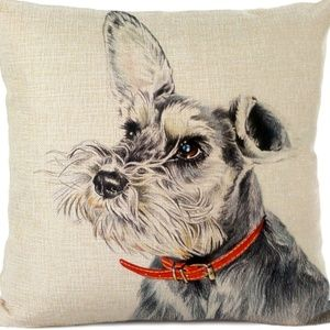 Other - Pillow Cover- NEW- Schnauzer Dog